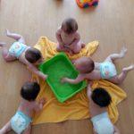 frio y calor en la escuela infantil globo